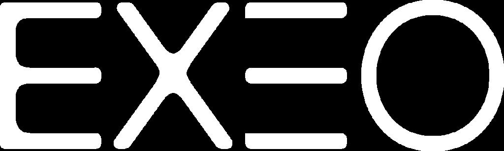 EXEO Logo white